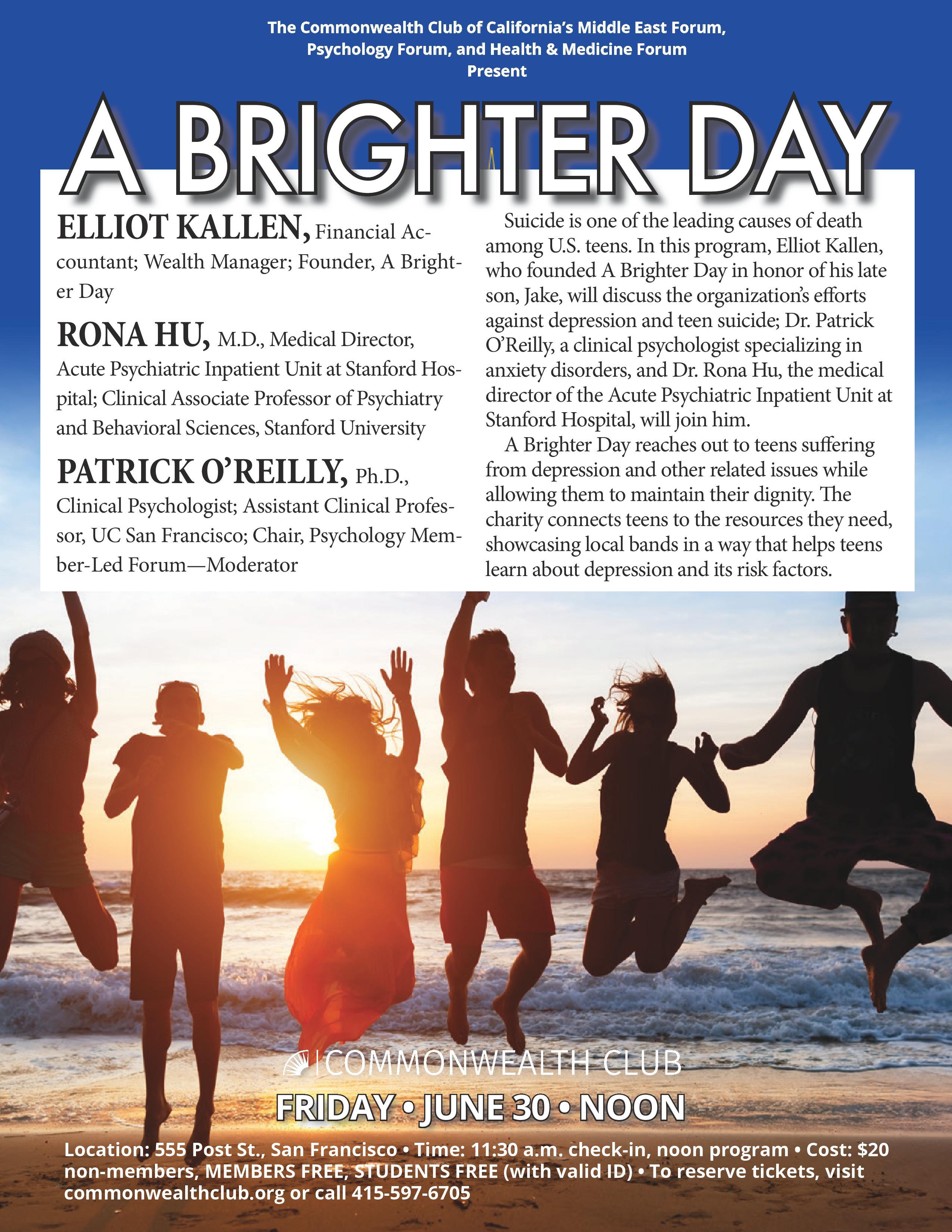 A Brighter Day | San Francisco Interfaith Council
